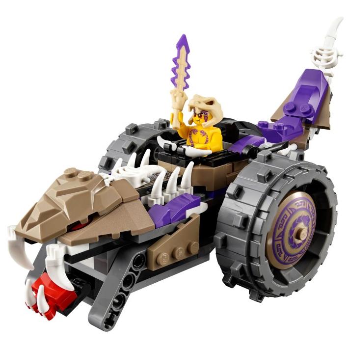 Mô Hình LEGO Ninjago - Máy Nghiền Độc Xà 70745
