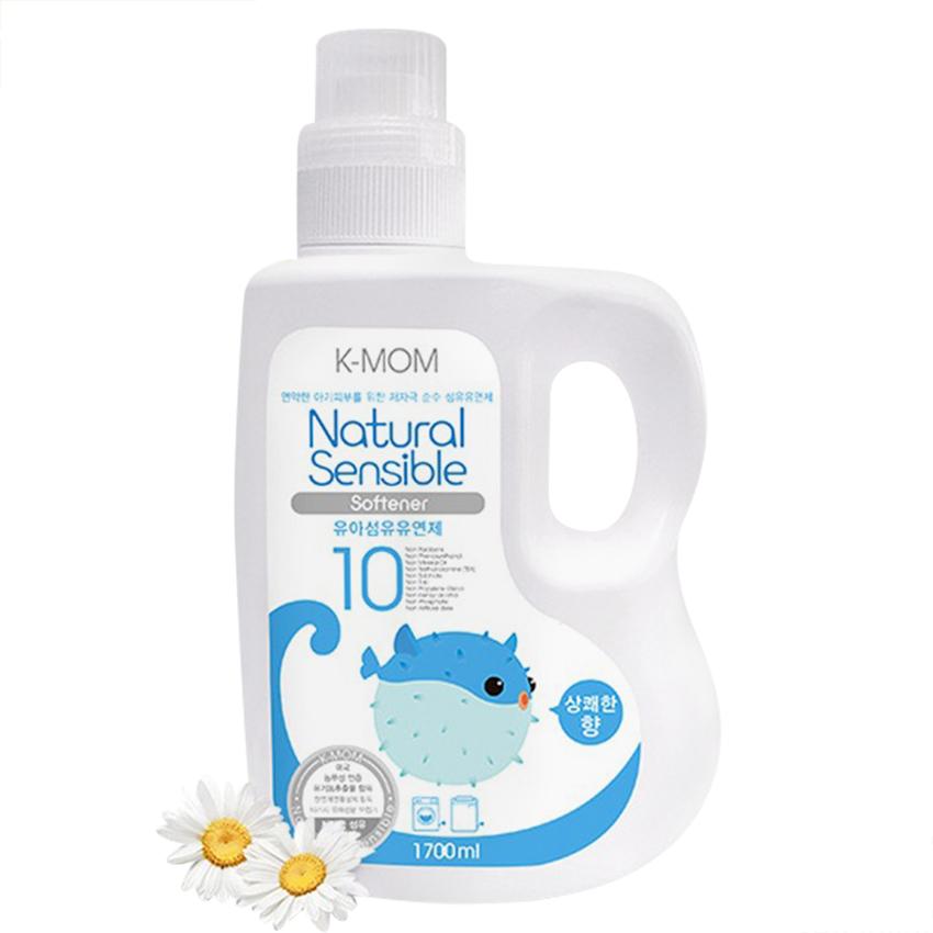 Nước Xả Vải Sơ Sinh Hữu Cơ (Organic) K-mom Hàn Quốc KM13162 (Chai 1700ml)