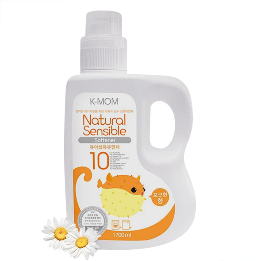 Nước Xả Vải Sơ Sinh Hữu Cơ (Organic) K-mom Hàn Quốc KM13227 (Chai 1700ml)