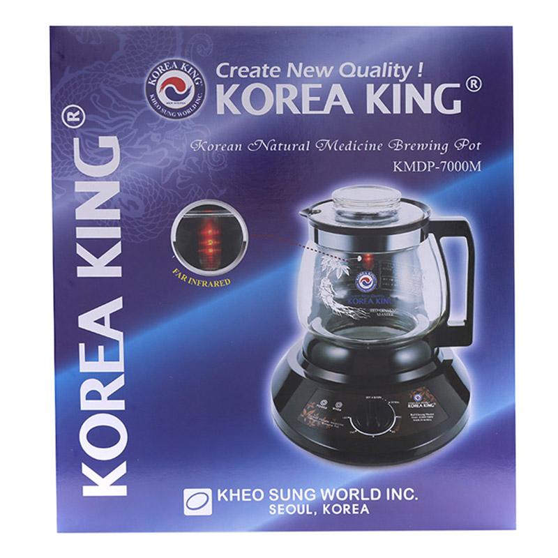Siêu Sắc Thuốc Korea King KMDP-7000M (3L) - Hàng Chính Hãng