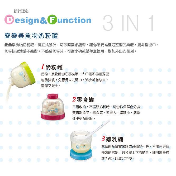 Hộp Chia Sữa 3 Ngăn Kuku KU5465
