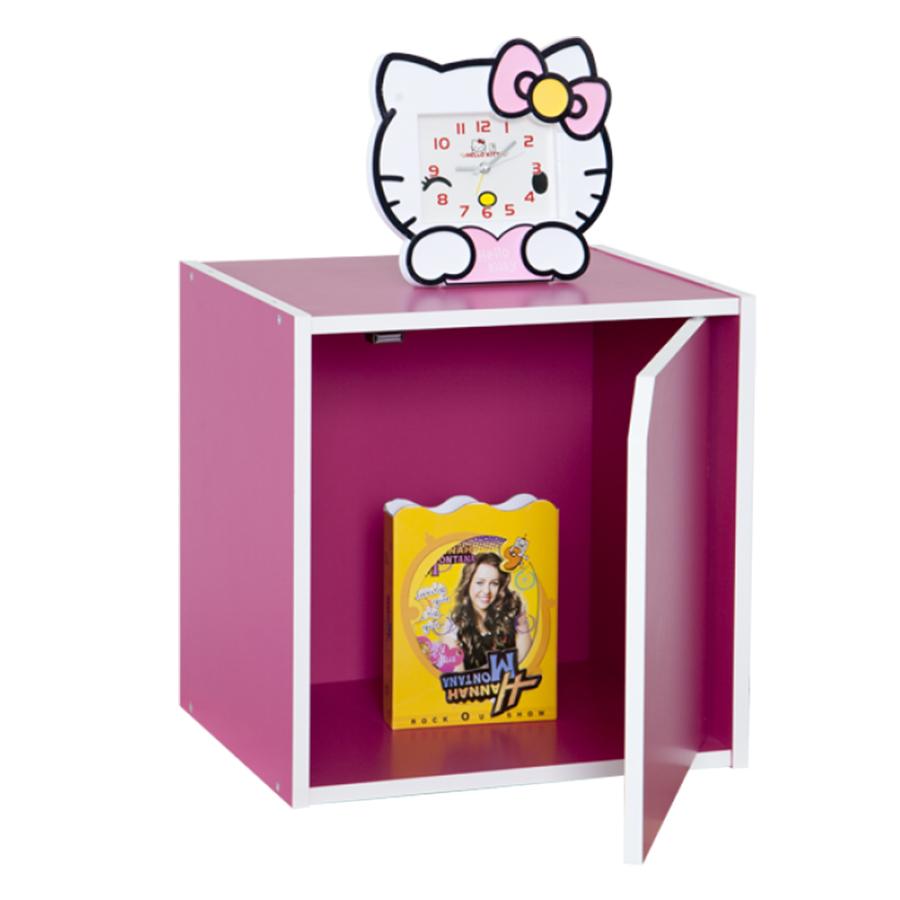 Kệ Hộc Trang Trí Có Cửa Modulo Home Kubo 1024-M - Hồng