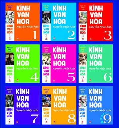 Kính Vạn Hoa - Bộ 9 Cuốn (Phiên Bản Mới)