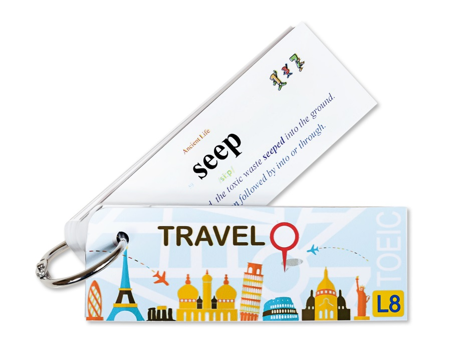 Flashcard Travel Best Quality (L8)