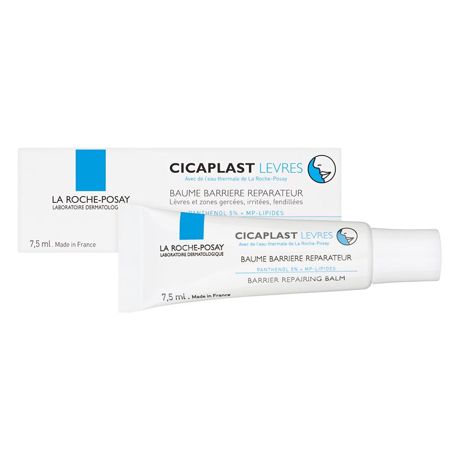 Kem Dưỡng Môi Phục Hồi Độ Ẩm & Bảo Vệ Môi La Roche-Posay Cicaplast Lips (7.5ml)