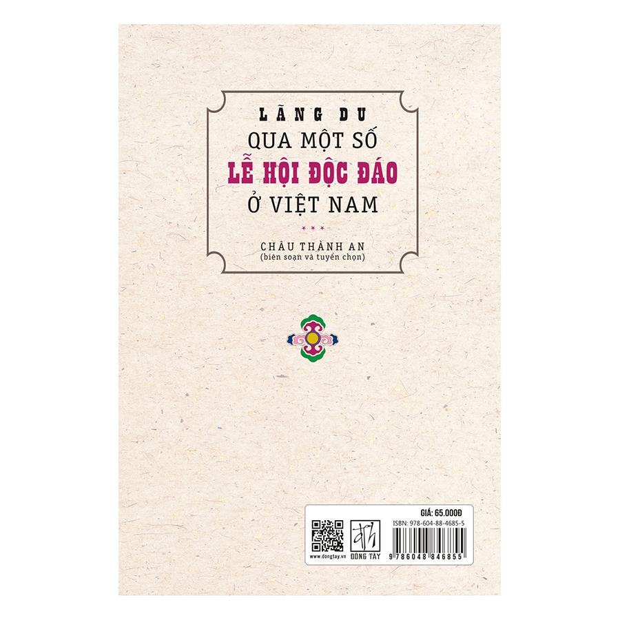 Lãng Du Qua Một Số Lễ Hội Độc Đáo Ở Việt Nam