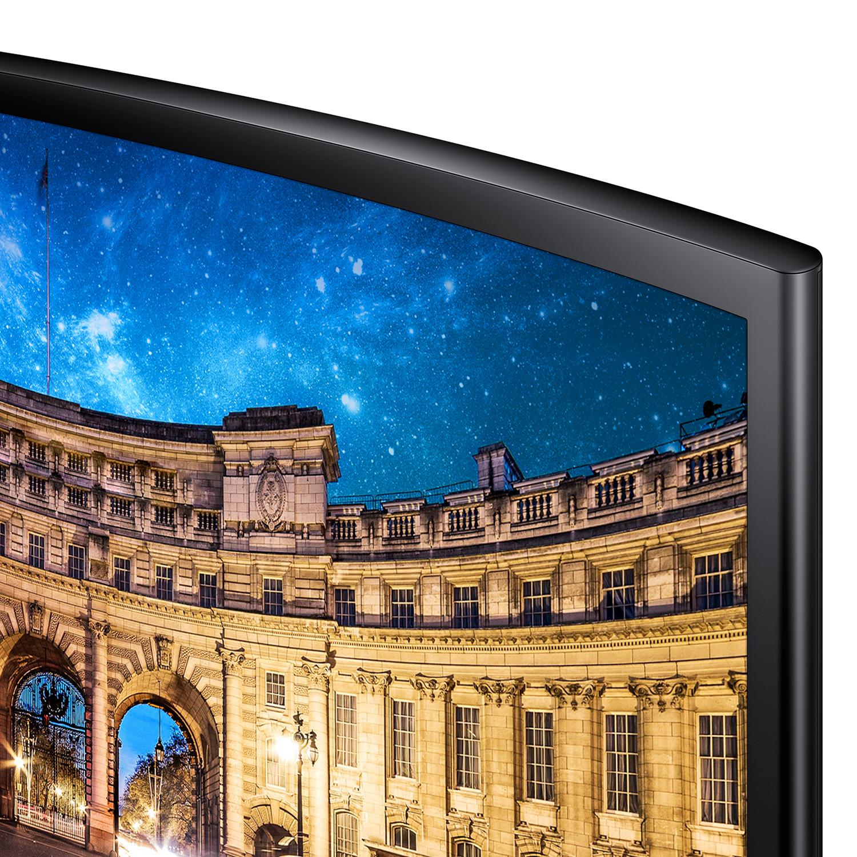 Màn Hình Gaming Cong Samsung LC27F390FHEXXV 27inch FullHD 4ms 60Hz FreeSync VA - Hàng Chính Hãng