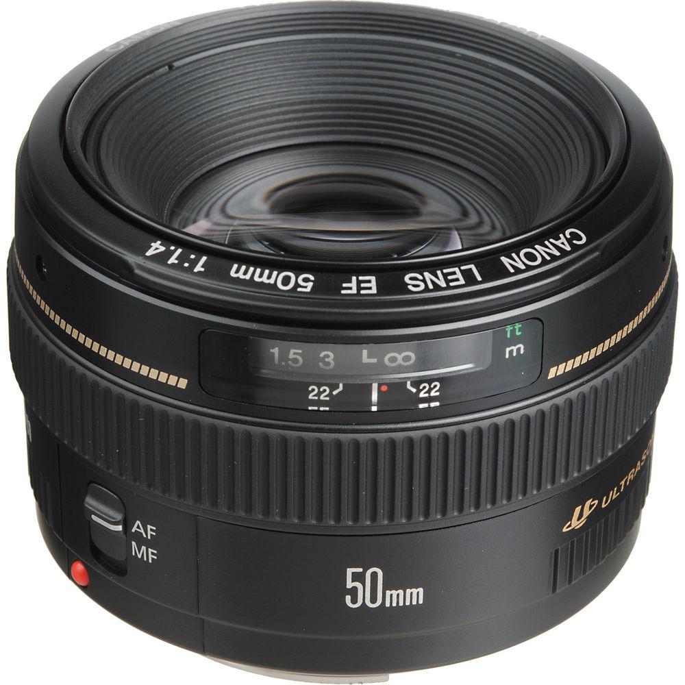 Lens Canon EF 50mm f/1.4 USM (Lê Bảo Minh) - Hàng Chính Hãng