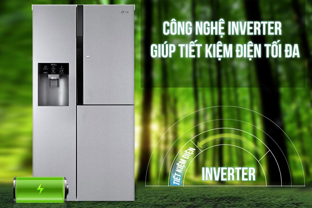 Tủ Lạnh Inverter LG GR-P267JS (609L)