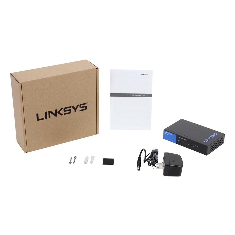 Linksys LGS105 - Unmanaged Switch - Hàng Chính Hãng