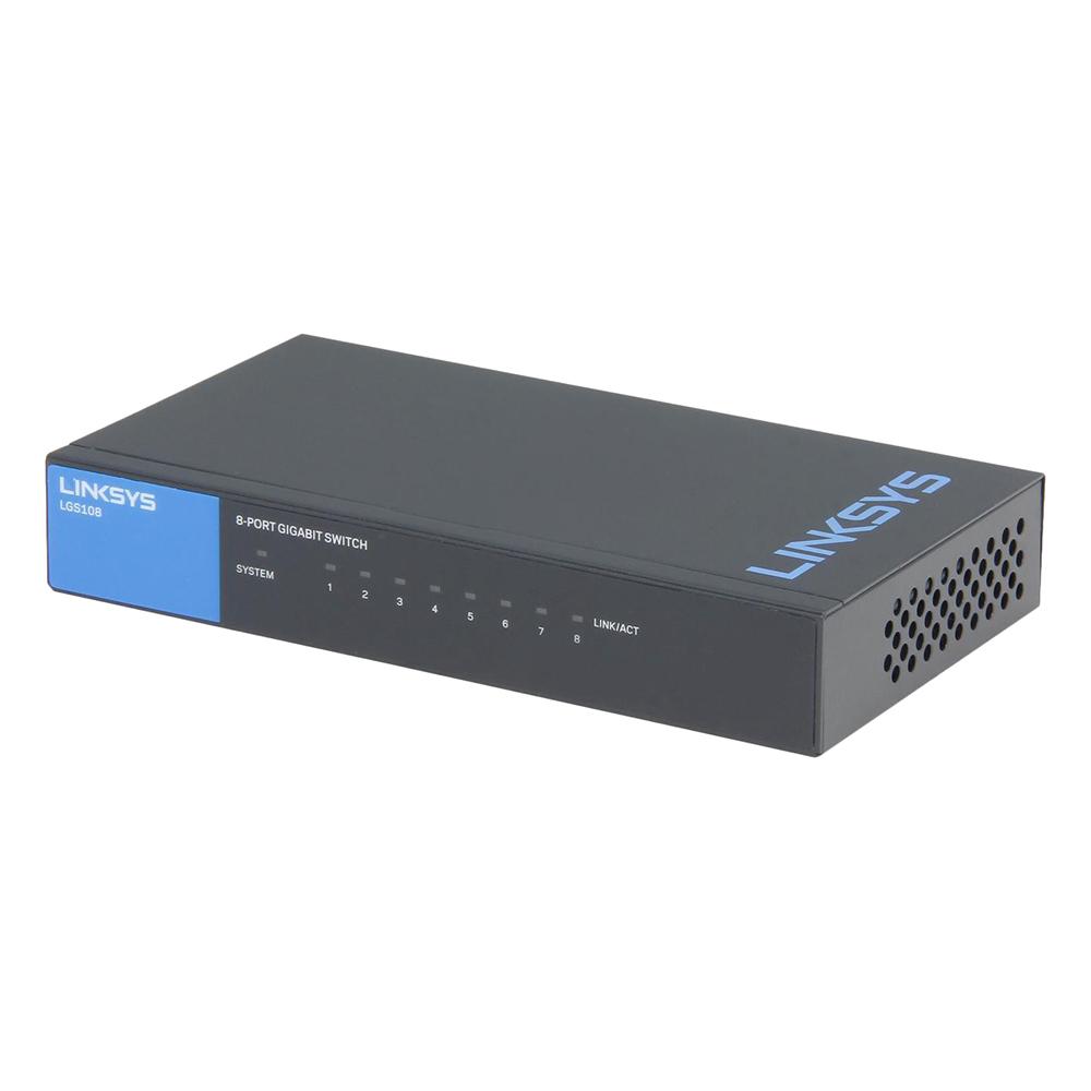 Linksys LGS108 - Unmanaged Switch - Hàng Chính Hãng