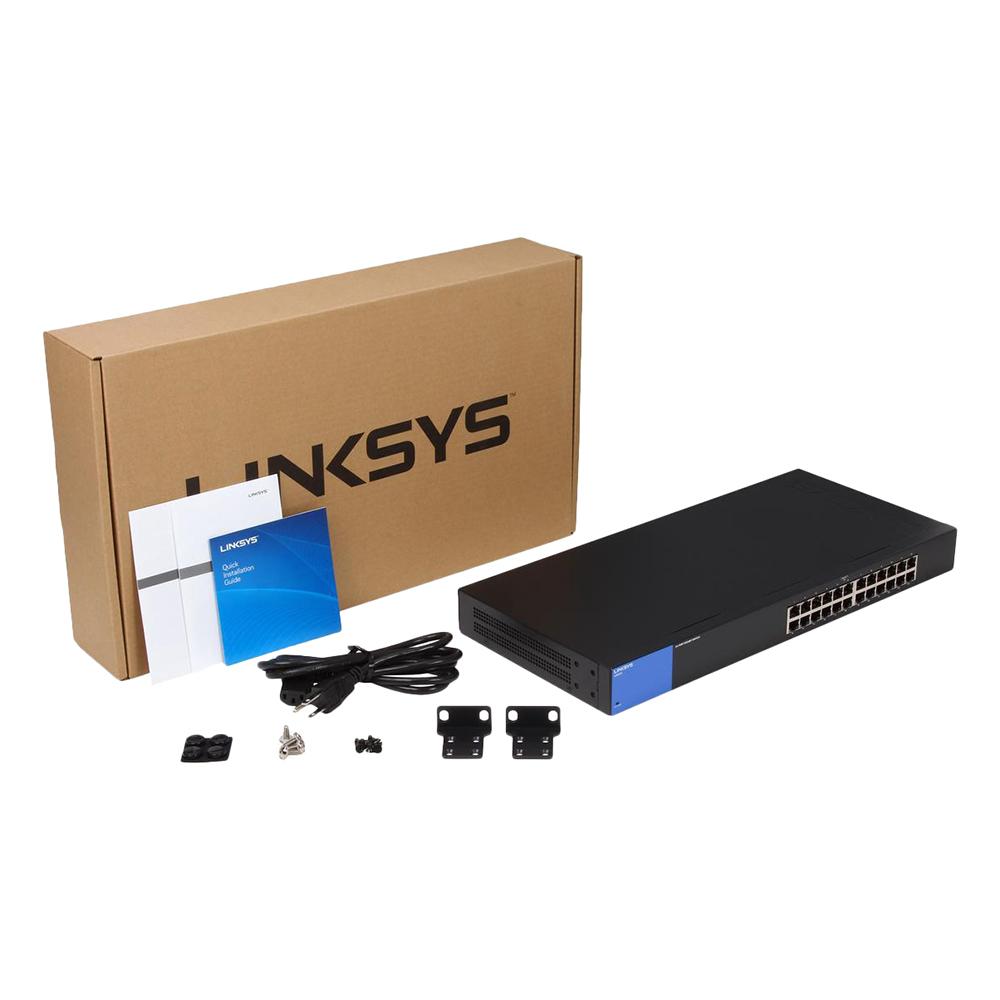 Linksys LGS124 - Unmanaged Switch - Hàng Chính Hãng