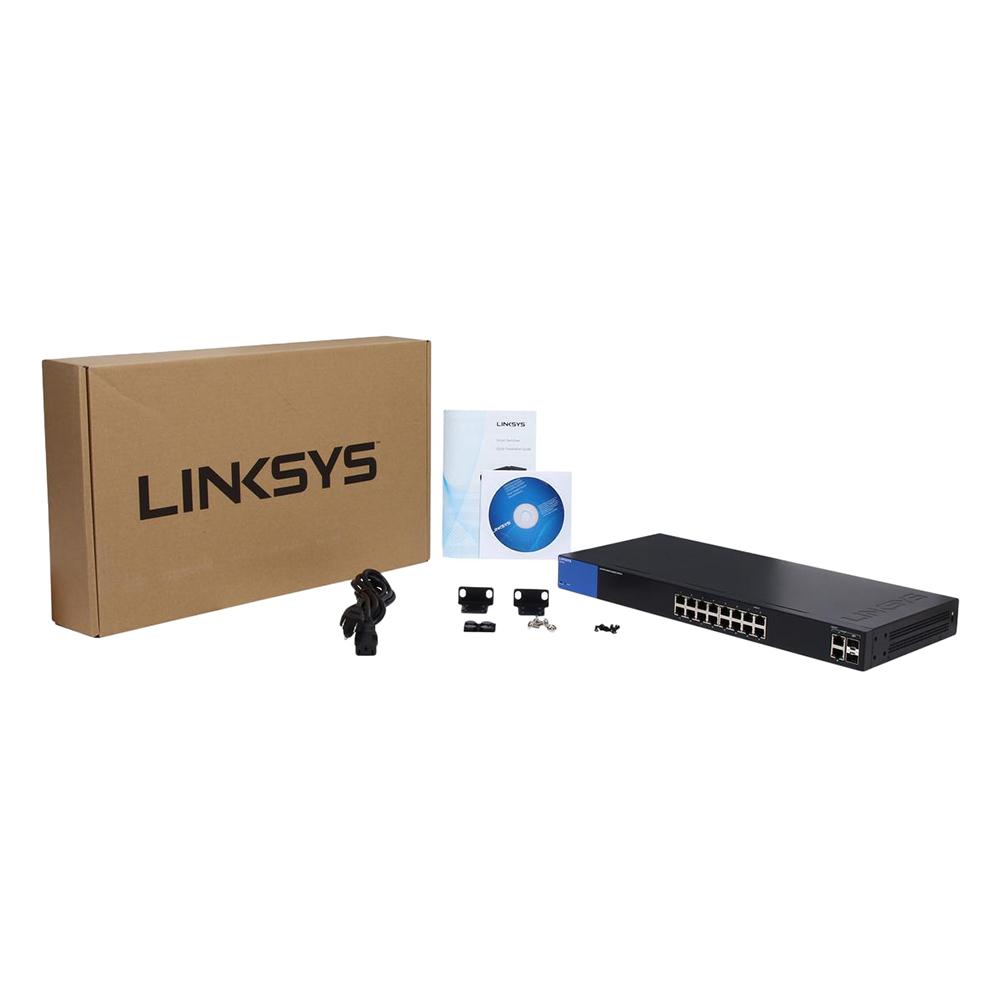 Linksys LGS318 - Smart Gigabit - Hàng Chính Hãng