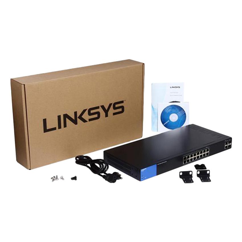 Linksys LGS318P - Smart Gigabit PoE+ - Hàng Chính Hãng