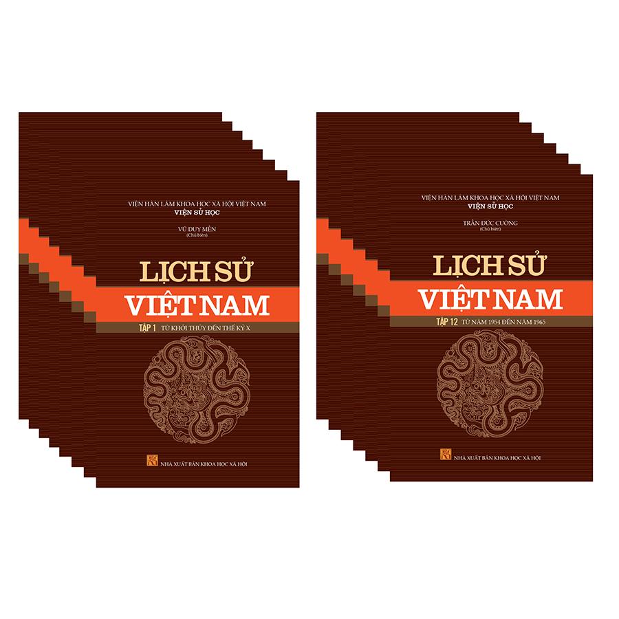 Nơi Mua Sách Lịch Sử Việt Nam Trọn Bộ 15 Tập Giá Rẻ