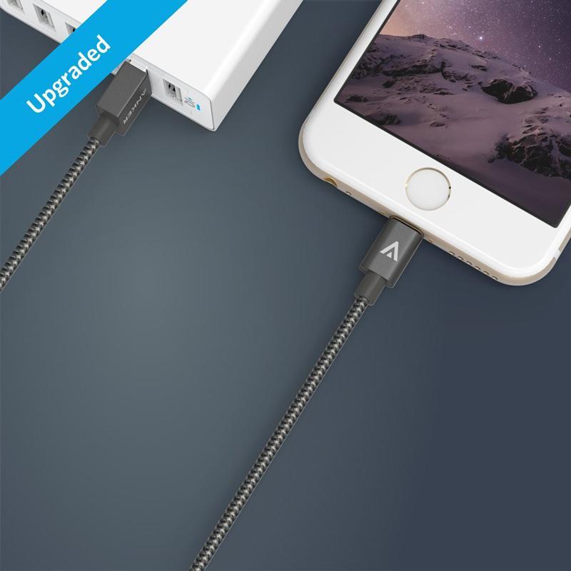 Cáp Sạc Anker Lightning 1.8m Dây Dù (Chứng Nhận Apple Mfi)
