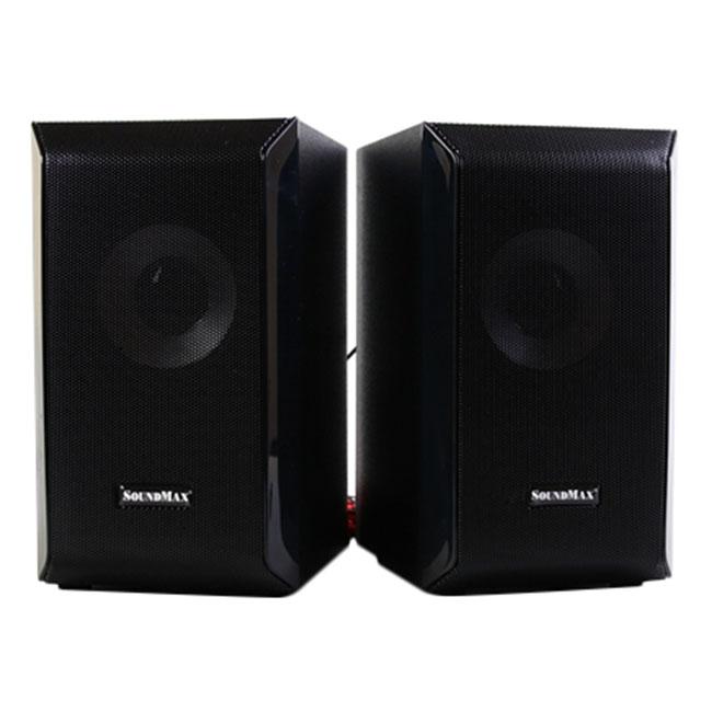 Loa Vi Tính SoundMax A-2118/2.1 60W Tích Hợp Bluetooth 4.0 - Hàng Chính Hãng