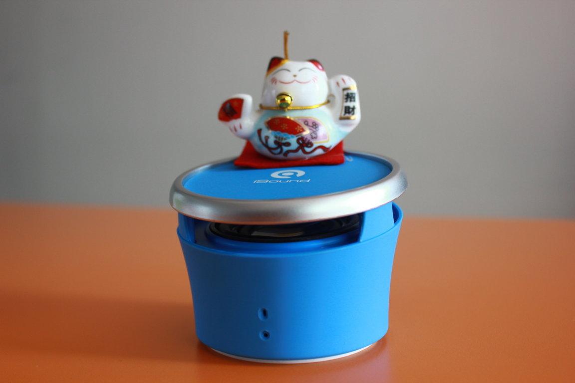 Loa Bluetooth iSound SP20 phiên bản màu xanh