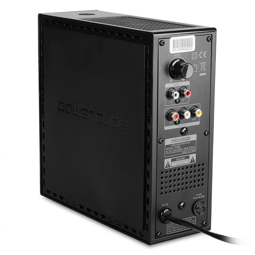 Loa Vi Tính Microlab FC-362 2.1+1 54W - Hàng Chính Hãng