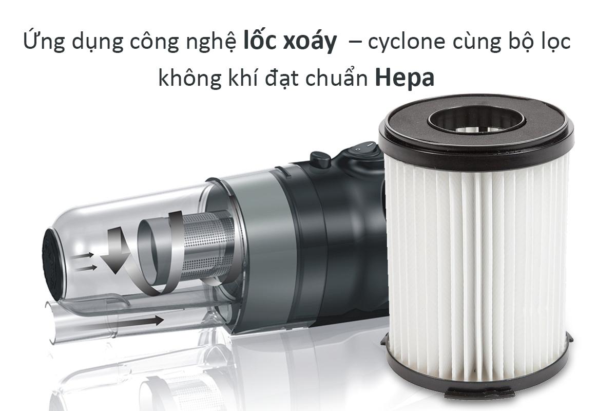 Máy Hút Bụi Cầm Tay Shimono SVC1016-C - Xanh dương