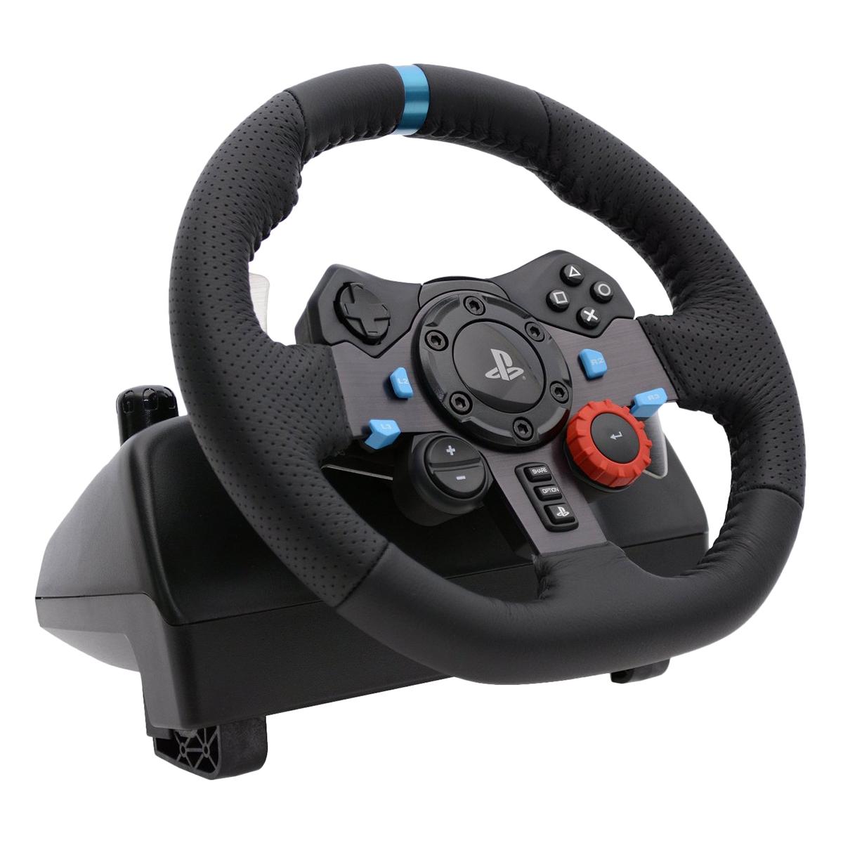 Vô Lăng Gaming Logitech G29 PC/PS4 - Hàng Chính Hãng