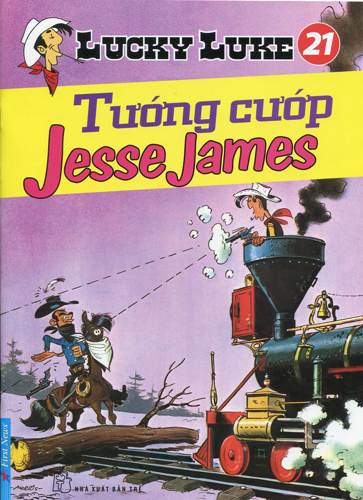 Lucky Luke 21 - Tướng Cướp Jesse James - 8935086823255,62_31981,24700,tiki.vn,Lucky-Luke-21-Tuong-Cuop-Jesse-James-62_31981,Lucky Luke 21 - Tướng Cướp Jesse James