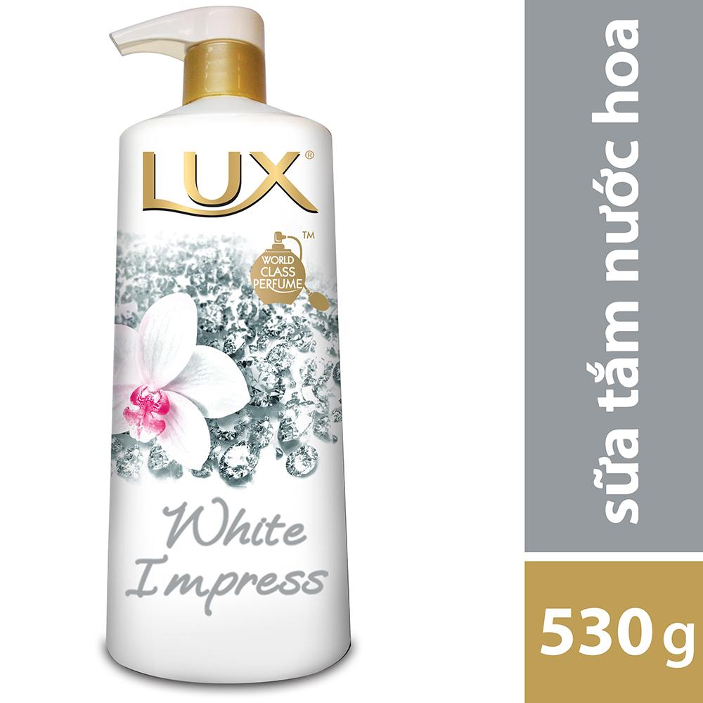 Sữa Tắm Lux White Impress Trắng 21087018 (530g) - 8934868097228,62_91823,98500,tiki.vn,Sua-Tam-Lux-White-Impress-Trang-21087018-530g-62_91823,Sữa Tắm Lux White Impress Trắng 21087018 (530g)