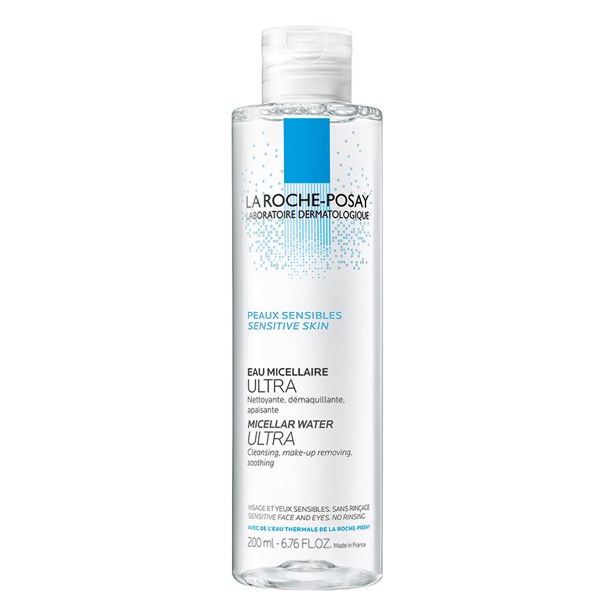 Nước Tẩy Trang Làm Sạch Sâu Cho Da Nhạy Cảm La Roche-Posay Micellar Water Ultra Sensitive Skin 200ml