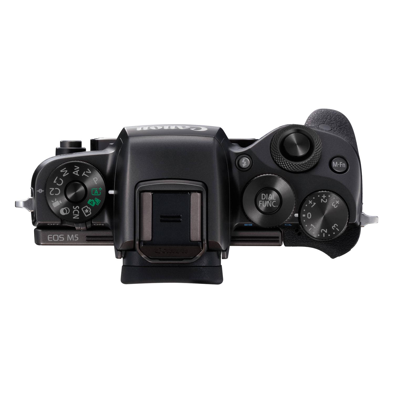 Máy Ảnh Mirrorless Canon EOS M5 + Lens 15-45mm - Hàng Chính Hãng