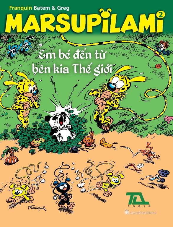 Khuyên đọc sách Marsupilami (Tập 2)