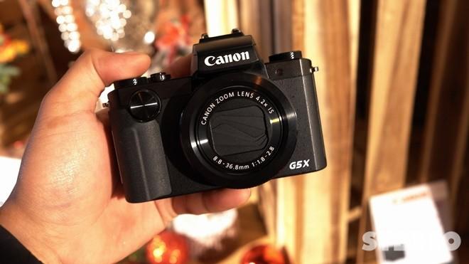 Máy Ảnh Canon Powershot G5X (Lê Bảo Minh)