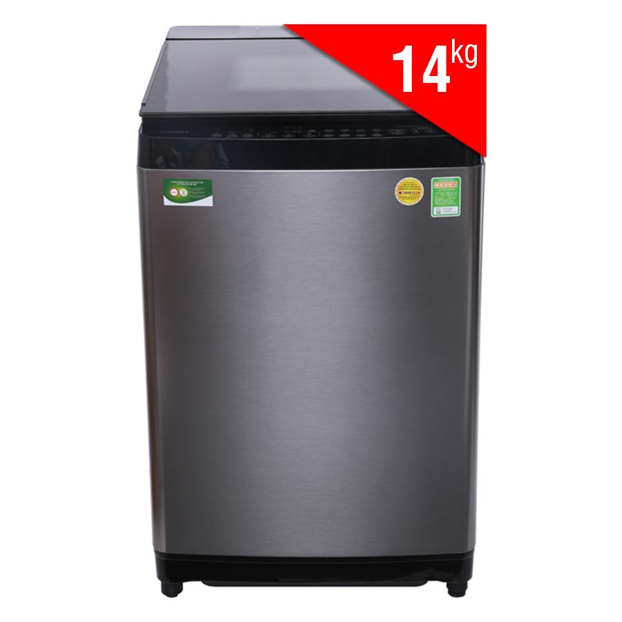 Máy Giặt Cửa Trên Inverter Toshiba AW-DG1500WV (14kg) - Xám Đen - Hàng Chính Hãng