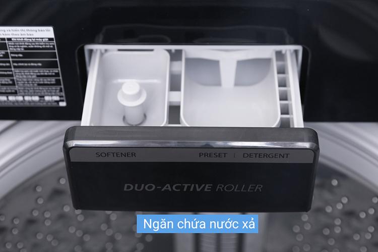 Máy Giặt Cửa Trên Inverter Toshiba AW-DG1600WV (15kg) - Xám Đen - Hàng Chính Hãng