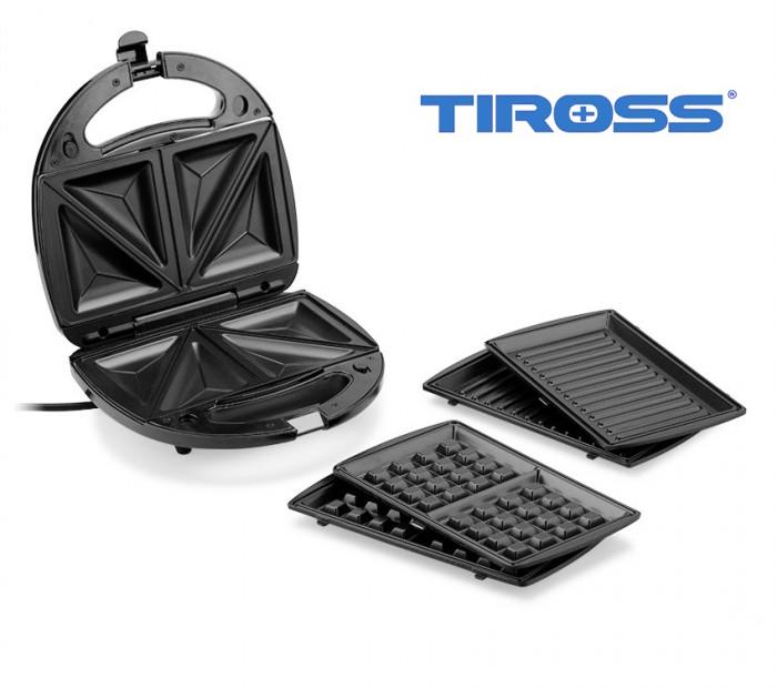 Máy Làm Bánh 3 Trong 1 Tiross TS513 - Hàng Chính Hãng