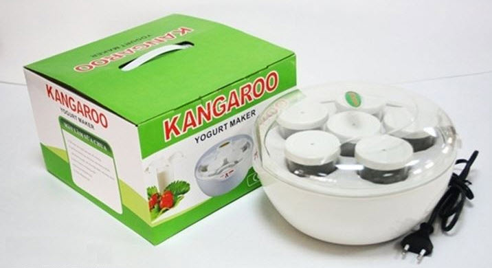 Máy Làm Sữa Chua Kangaroo KG 80 - Hàng chính hãng