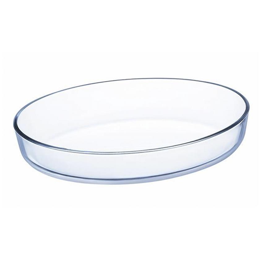 Khay Nướng Thủy Tinh Luminarc Hình Oval J1337 (26x20 cm)