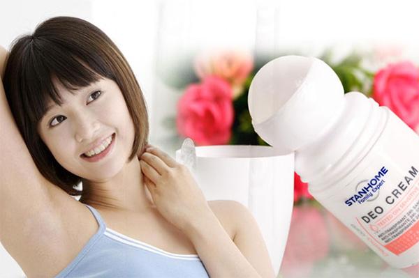 Lăn Khử Mùi Không Cồn Vùng Nách Stanhome Deo Cream - 33754 (50ml)