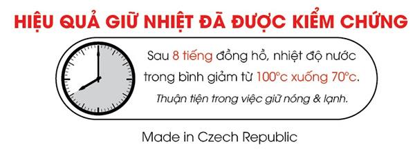 Phích Giữ Nhiệt Inox 304 ELMICH EL6950-2246950 (1,2l)