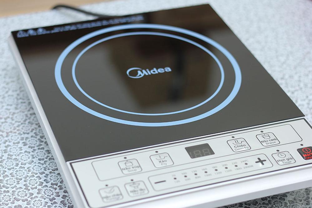 Bếp Điện Từ Midea MI-B2015DE - Đen