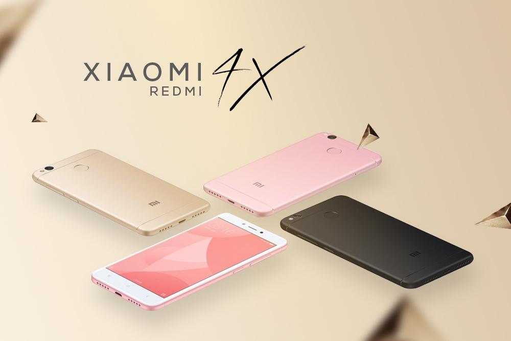 Xiaomi Redmi 4X (16GB) - Hàng Chính Hãng
