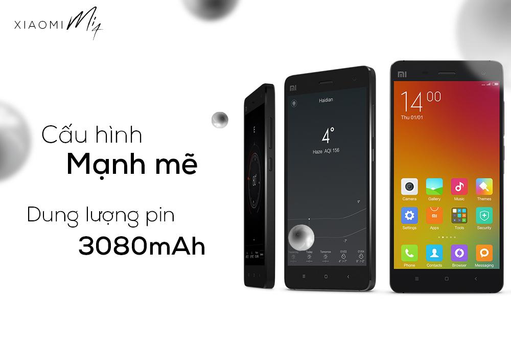 Xiaomi Mi4 (16GB / RAM 3GB) - Hàng Chính Hãng