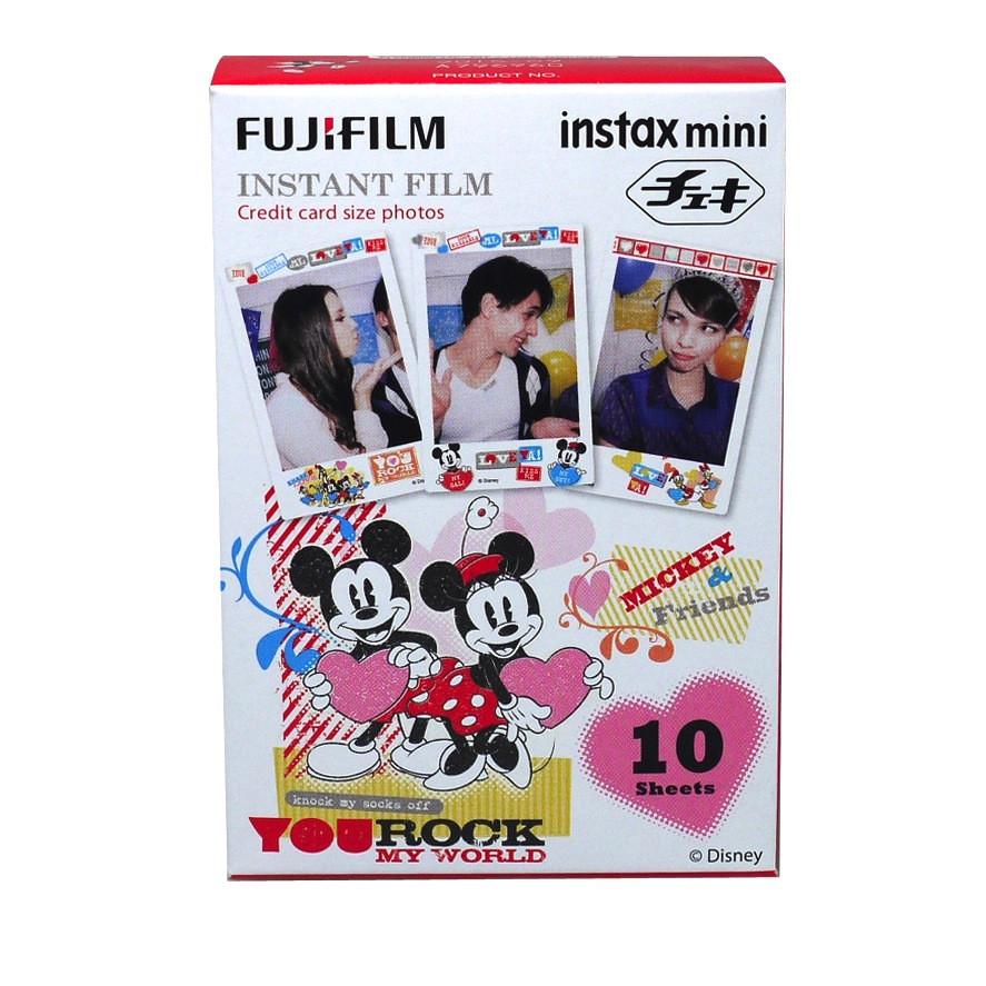 Hộp Film Fujifilm Mini 10 Tấm  Chuột Mickey