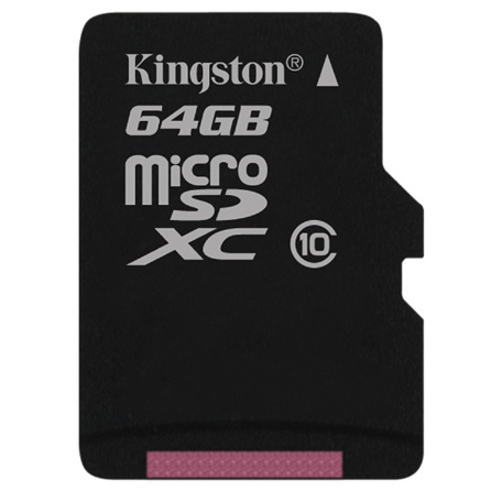 Thẻ Nhớ  Micro SD Kingston 64GB Class 10 + Adapter