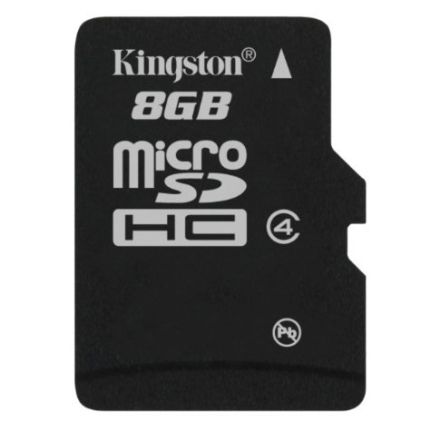 Thẻ Nhớ Micro SD Kingston 8GB Class 4