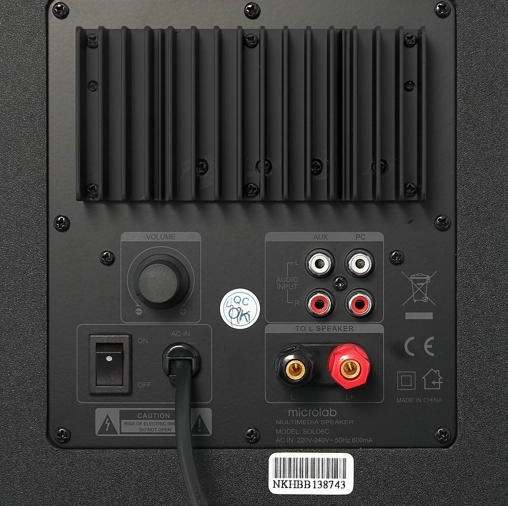 Loa Vi Tính Microlab Solo 5C 2.0 - Hàng Chính Hãng