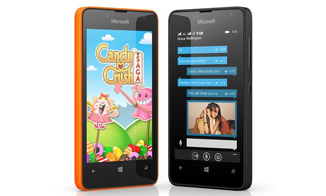 Microsoft Lumia 430 - 4.0 inch/2 nhân x 1.2GHz/8GB/2.0MP/1500mAh/2 SIM 2 Sóng