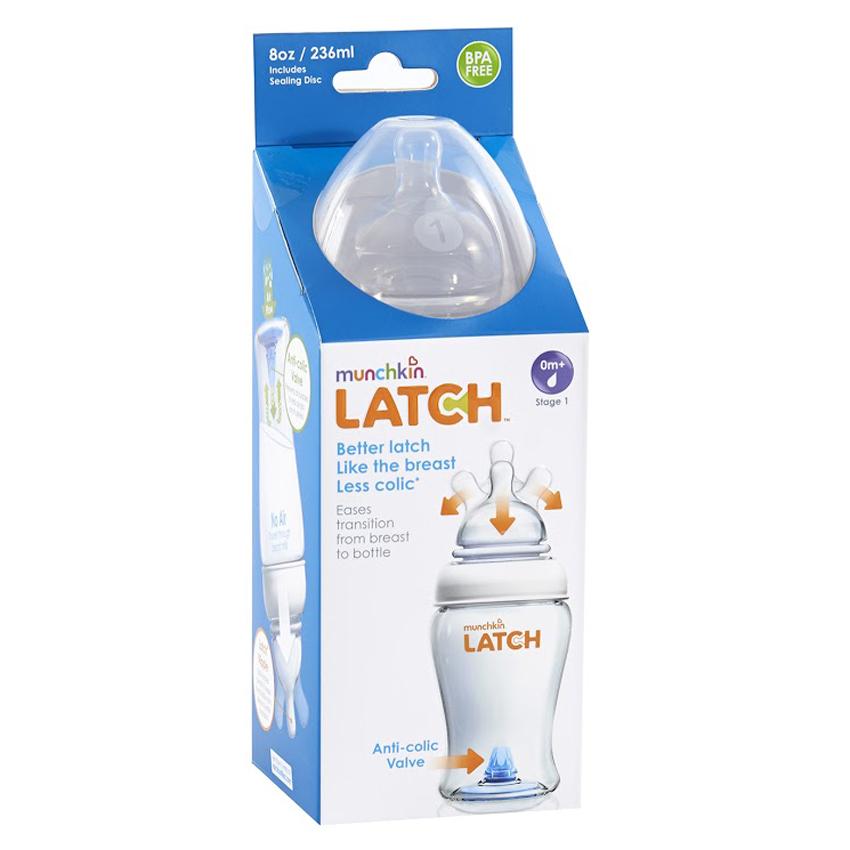 Bình Sữa Nhựa Latch Muchkin MK15669 (240ml)