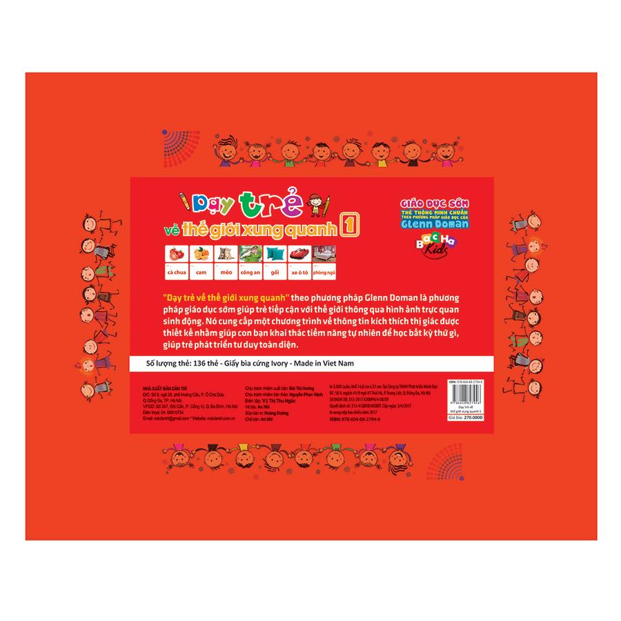 Flash Card Dạy Trẻ Về Thế Giới Xung Quanh 1 (Tái Bản)
