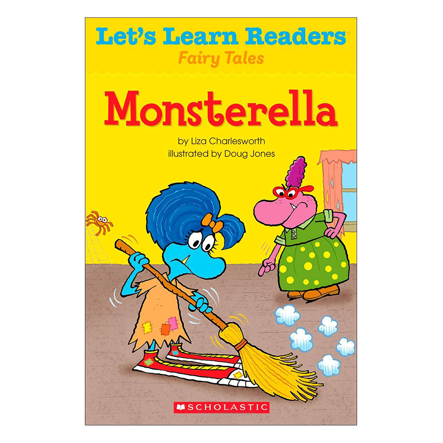 Lets Learn Readers: Monsterella
