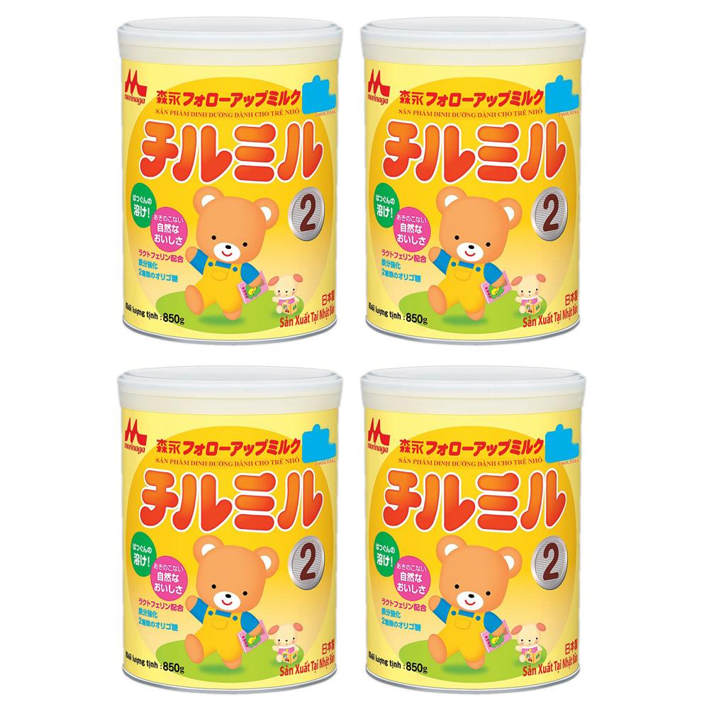 Combo 2 Hộp Sữa Morinaga Chilmil (850g)